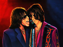 Aerosmith painting by Paul Meijering