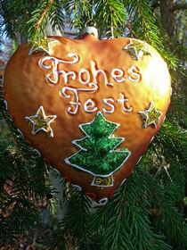 weihnachtsschmuck by sandra zuerlein