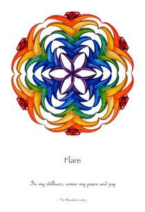 Flare Mandala w/Message von themandalalady