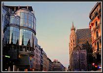 FALL EVENING IN VIENNA by Maks Erlikh