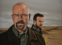 Breaking Bad painting by Paul Meijering