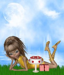 Geburtstag Kuchen von Conny Dambach
