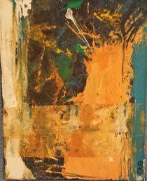 """Abstrakt """"Orange"""" by Marie-Nathalie Kröss"""