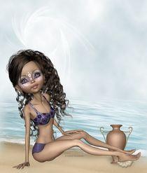 Strandmotiv von Conny Dambach