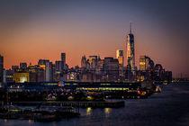 Sonnenaufgang in New York by gfischer