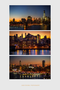 Hafeneinfahrt in New York von gfischer