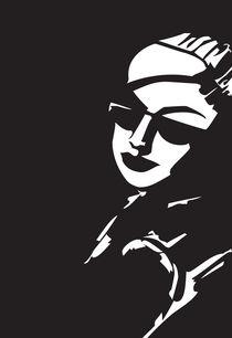 i wear my sunglasses at night by Cornelia Papendick