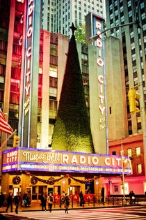 Radio City Music Hall by Darren Martin