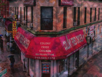 CAFE IN THE BRONX by Maks Erlikh