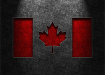 Canadian-flag-stone-texture-old-5x7
