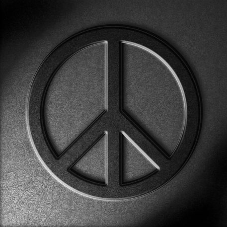 Peace-sign-stone-texture-old