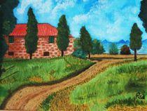 Landsitz in der Toscana by Rena Rady
