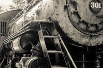Black, White Train by digidreamgrafix