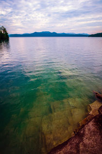 lake jocassee south carolina usa by digidreamgrafix