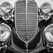front of a classic car by digidreamgrafix