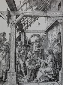 0459s - Der Stall zu Betlehem - The stable of Bethlehem von stiche. biz