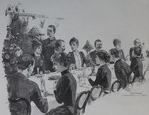 0554s - das Dinner - the dinner von stiche. biz