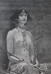 0565s - Frauenakt - nude girl by stiche. biz