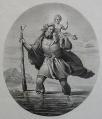 0572s - heiliger Christophorus - St. Christopher by stiche. biz