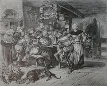 0600s - zechende Landsknechte - carousing mercenaries, by stiche. biz