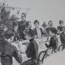 0040s - das grosse Dinner - The large dinner von stiche. biz