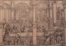 1345s - Das Abendmahl - Last Supper von stiche. biz