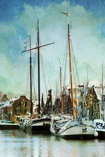 Sailboats von Annie Snel - van der Klok