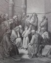 9385s - Jesus im Tempel - Jesus in the Temple von stiche. biz