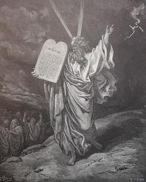 9399s - Moses steigt vom Sinai - Moses descends from Sinai  von stiche. biz