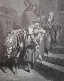 9427s - Ankunft des Samariters - Arrival of the Samaritan by stiche. biz