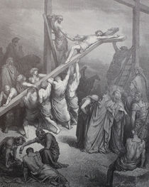 9443s - Die Kreuzerhöhung - The Exaltation of the Cross by stiche. biz