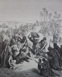 9453s - Speisung der Viertausend - Feeding of the four thousand von stiche. biz