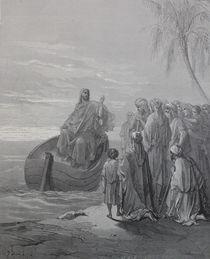 9473s - Jesus predigt - Jesus preaches  von stiche. biz