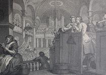 9553s - Gebet in der Kirche - Prayer in the Church  by stiche. biz