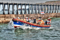 Whitby's Old Lifeboat, RNLI Mary Ann Hepworth von Steve H Clark Photography
