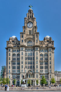 The Liver Building - Liverpool von Steve H Clark Photography