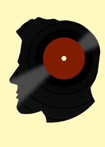 Vinyl Records - DJ - RETRO MUSIC LOVER von Denis Marsili