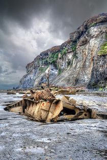 Saltwick Bay Shipwreck by Steve H Clark Photography