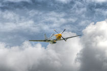 P51 Mustang - Cadillac of the Sky von Steve H Clark Photography