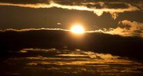Sonnenuntergang im Winter von Henning Hollmann