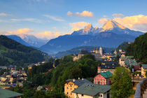 Berchtesgaden mit Watzmann von Dominik Wigger