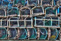 Lobster Pots - Robin Hoods Bay by Steve H Clark Photography