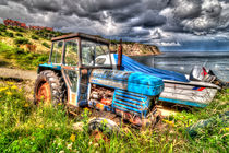 Leyland 262 Tractor - Robin Hoods Bay by Steve H Clark Photography