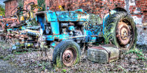 Old Tractor by Steve H Clark Photography