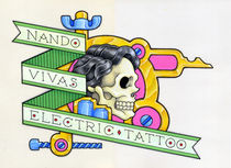 Nando Vivas Electric Tattoo by Nando Vivas