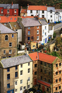The fishing village of Staithes, North Yorkshire von Louise Heusinkveld