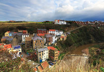 Staithes in North Yorkshire von Louise Heusinkveld