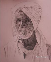 Egyptian old man von otilia-elena