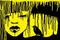 Yellow cry von Maria Buzueva