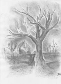 Dark tree by lizzie-rena